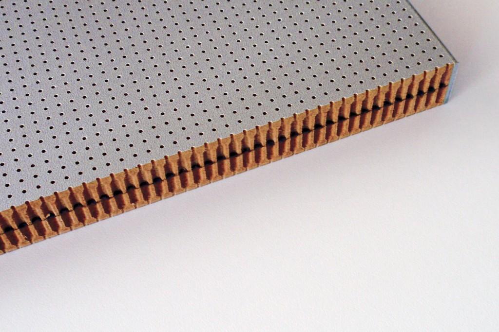 MDF E1 B2 beschichtet Lochung: R1 / 6.4 / 6.4 / P