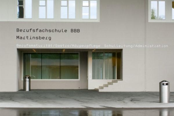 Berufsfachschule BBB, Martinsberg