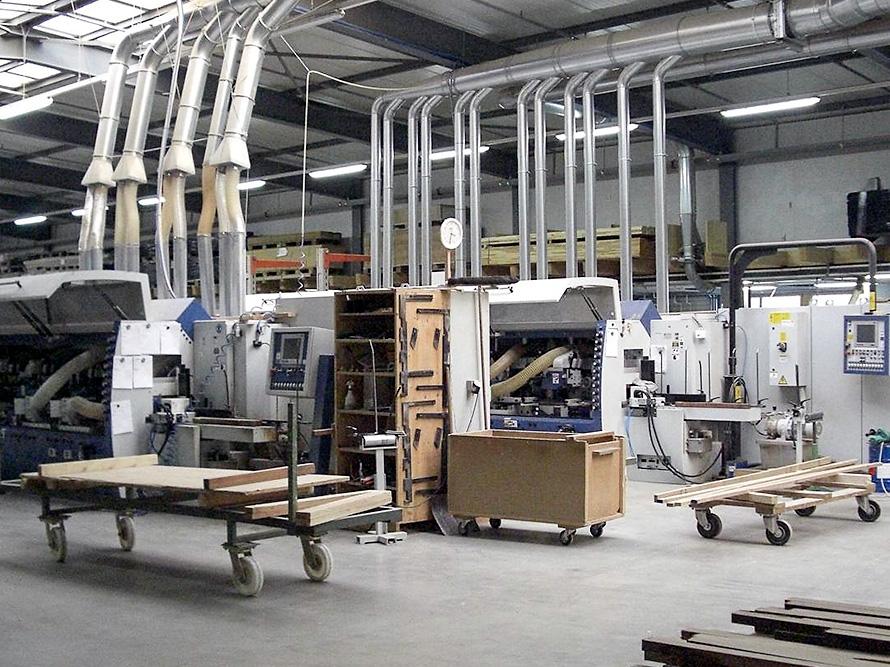 Leistenfabrikation