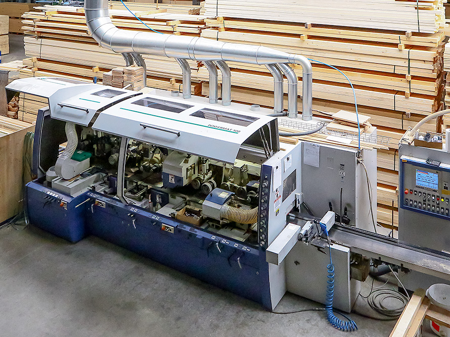 Nutenbetthobelmaschine