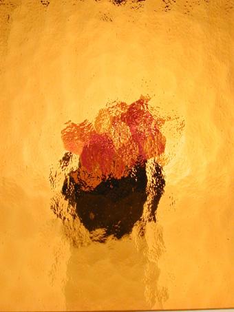 Kathedral kleingehämmert gelb